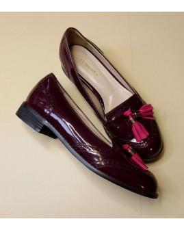 Topánky Renoma bordové, veľ.23,5