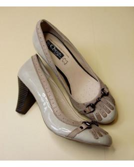 Topánky Queen´s & Sons béžové, veľ.39