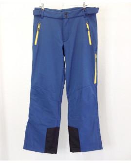 Otepľovačky Crane softshellové modré, veľ.52