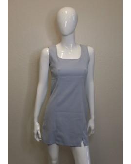 Šaty sivé, veľ.38