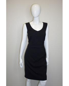 Šaty puzdrové čierne, veľ.44