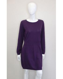 Šaty Esmara fialové úpletové, veľ.L