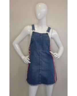 Sukňa na traky H&M rifľová modrá, veľ.34