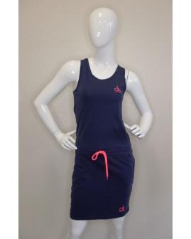 Športové letné šaty Calvin Klein modré, veľ.S