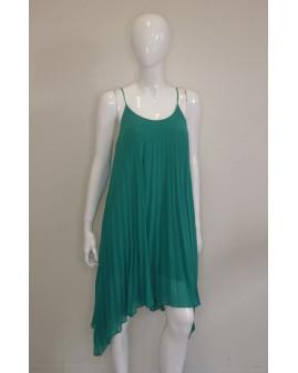Letné šaty H&M zelené plisované, veľ.36