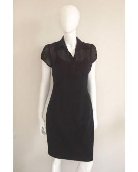 Šaty Orsay čierne, veľ.38