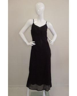 Šaty Mexx čierne s bielymi bodkami, veľ.44