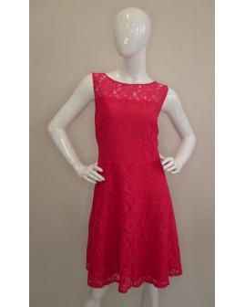 Čipkované šaty Yessica ružové, veľ.44