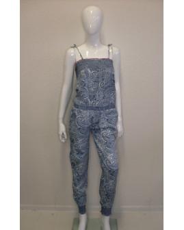 Overal Pepe Jeans modrý vzorovaný, veľ.S
