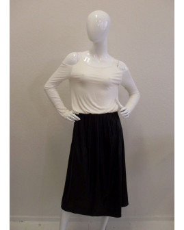 Šaty Patrizia Pepe bielo-čierne, veľ.40