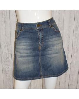 Sukňa H&M rifľová modrá, veľ.40