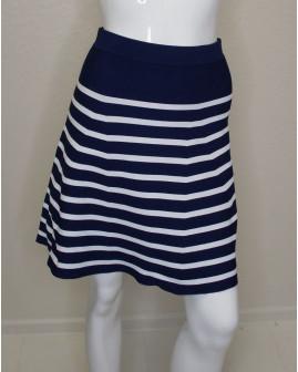 Sukňa modro-biela pruhovaná, veľ.S