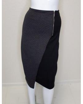 Sukňa čierno-sivá , veľ.L