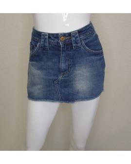 Sukňa H&M rifľová modrá, veľ.36