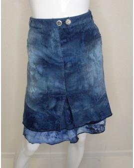 Sukňa Biba rifľová modrá, veľ.44