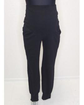Tehotenské tepláky H&M čierne, veľ.L