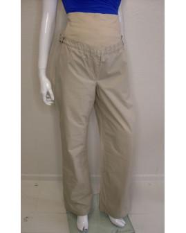 Tehotenské nohavice Yessica béžové, veľ.42