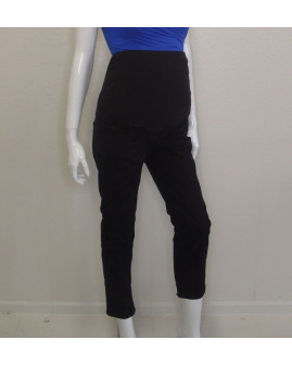 Tehotenské 7/8 nohavice H&M čierne, veľ.40