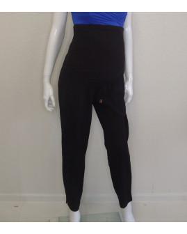 Tehotenské 7/8 nohavice H&M čierne, veľ.38