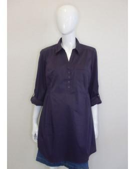 Košeľa H&M fialová, veľ.L