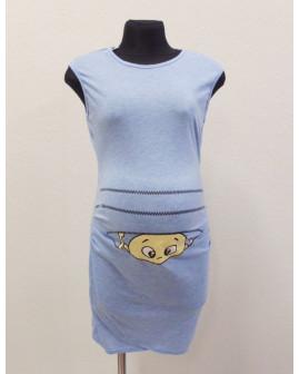 Tehotenské tričko H&M modré, veľ.L