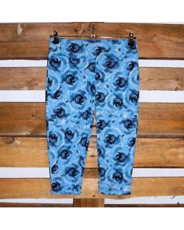 3/4 legíny Crane modré so vzorom, veľ.S