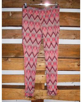Legíny Ergee ružové vzorované, veľ.L