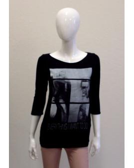Tričko s´Oliver čierne s potlačou, veľ.S
