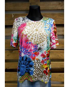 Tričko farebné, veľ.46