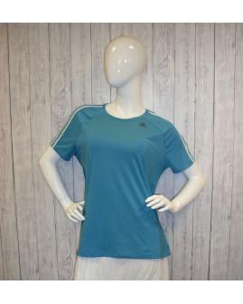 Tričko Adidas modré, veľ.46/48