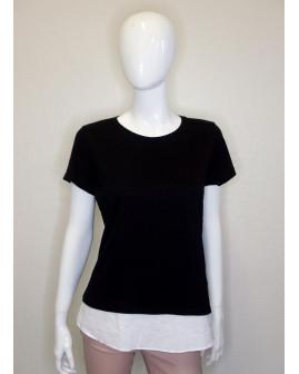 Tričko Esmara čierne, veľ.M