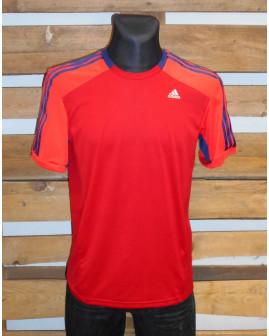 Tričko Adidas červené, veľ.M