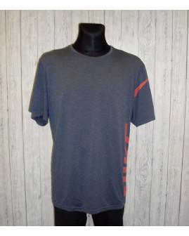 Tričko Nike modré s nápisom, veľ.XXL