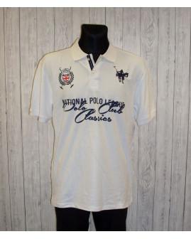 Tričko Vinson biele s nápismi, veľ.XL