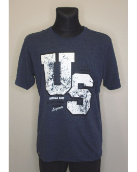 Tričko Uncle Sam tmavomodré s nápisom, veľ.L