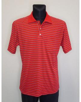Tričko červené prúžkované, veľ.XL
